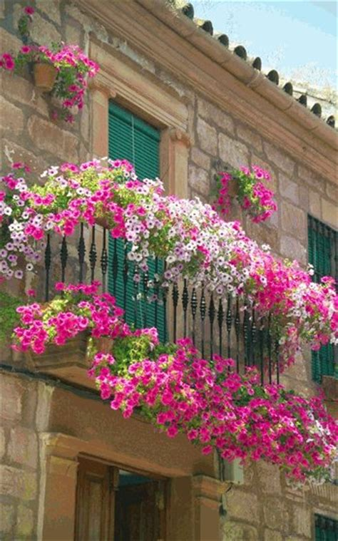 balcony flowers beautiful flower arrangements 12 nice balcony and terrace