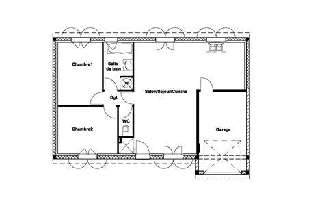 Plan Maison 6 Chambres 3423 by Plan Maison 6 Chambres Plan De Maison Avec 4 Chambres 6