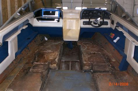 How To Fiberglass A Boat Floor by Complete Floor Stringer Replacement S Fiberglass