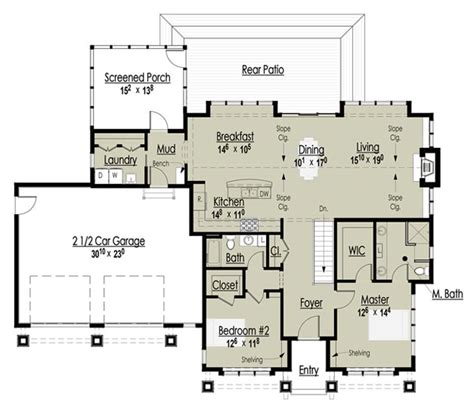 Award Winning House Plans | the red cottage floor plans home designs commercial