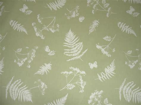 curtain fabri clarke clarke moorland green cotton curtain fabric