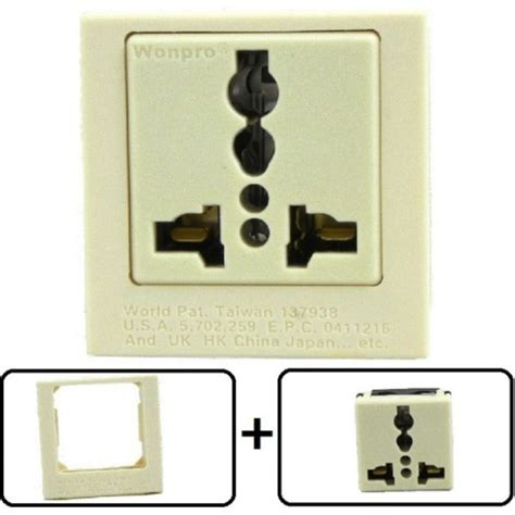 l with power outlet type a through l universal electrical receptacle outlet 20