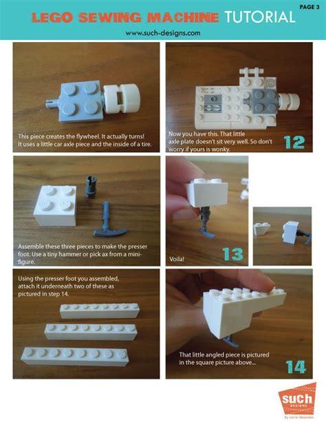 lego tutorial room 260 best lego images on pinterest lego instructions