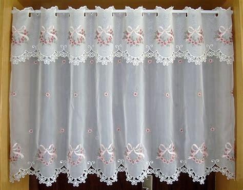 cortinas estadas para cocina cristal flores frente cocina