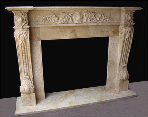 mantel mb110 travertine 188 socal fireplace mantels