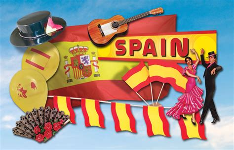 themed party in spanish decorations in spanish spanish decor with british