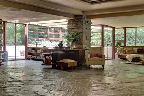 fallingwater interior travel treasures fallingwaters a home by frank lloyd