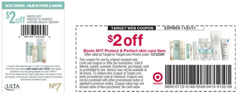 Stallex Skin Care March Promotion by Printable Make Up Coupons 2015