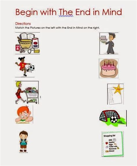 Grade 1 Habits Worksheet Kidschoolz 1000 Ideas About 7 Habits On Leader In Me Habit 1 And Seven Habits
