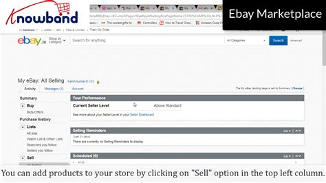 ebay seller account how to create seller account in ebay marketplace
