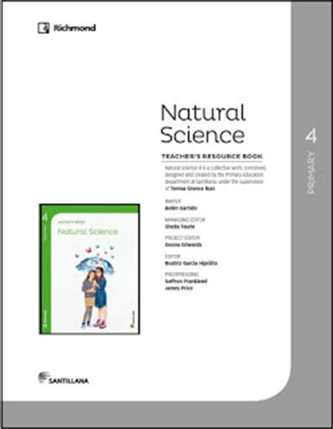 savia natural science 5 8415743939 natural science 4 186 e primaria editorial richmond descargas pdf ingl 233 s educaci 243 n primaria