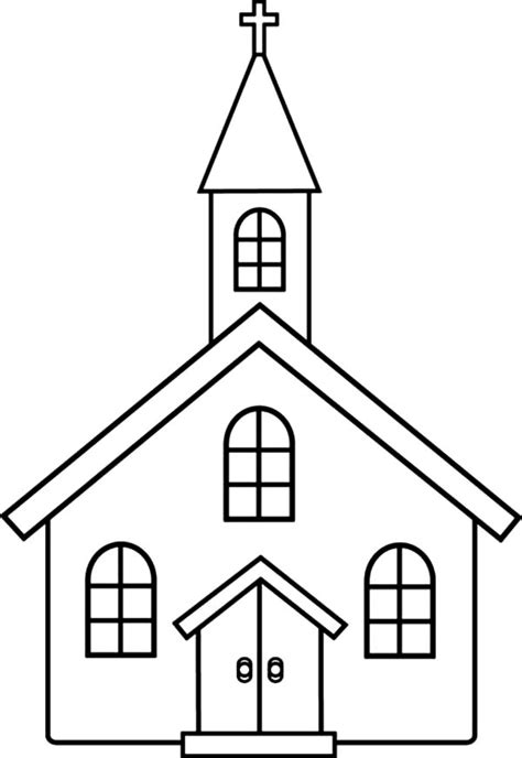 church coloring pages for kids church coloring pages for
