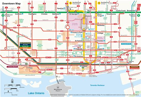 downtown map toronto downtown map printable printable maps