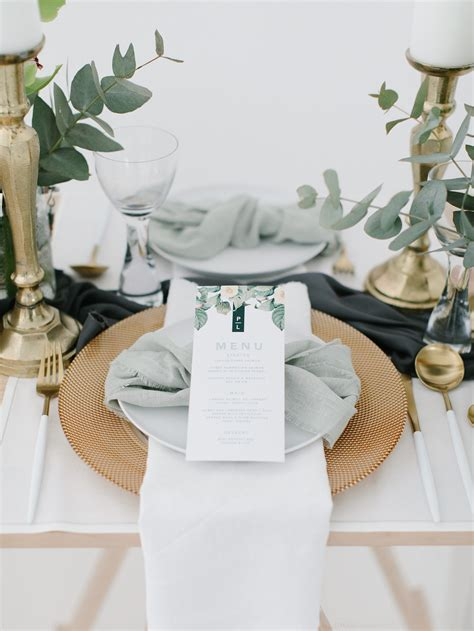 understated elegance  olive green  ivory wedding