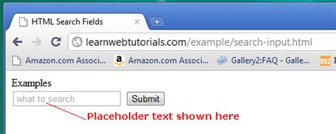 placeholder text color html 5 search input text field learn web tutorials