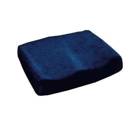 essential memory foam sculpted seat cushion