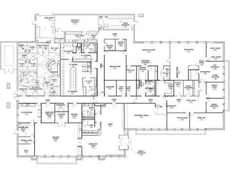 police station floor plan burr ridge police department dushan milinovich archinect