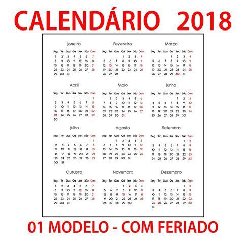 calend 225 2018 sem tema r 5 00 em mercado livre