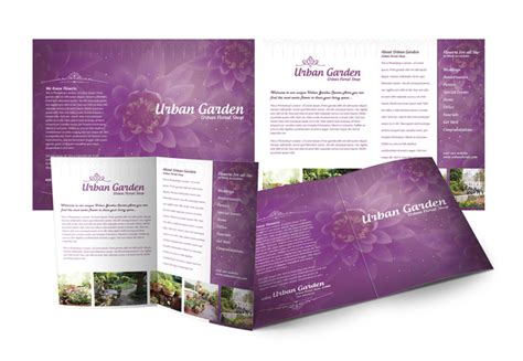 Garden Wedding Brochure by 75 Free Brochure Mockup Templates For Your Designs