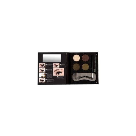 Nyx Eyebrow Kit With Stencil nyx cosmetics eyebrow kit with stencil beautylish