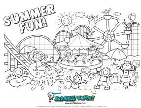 summertime coloring pages summer coloring pages for free large images