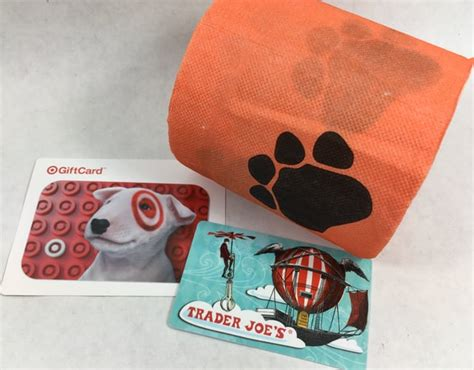 Trader Joes Gift Card - prize drawing target gift card or trader joe s gift card or toilet paper the
