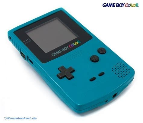 Gameboy Color Console Turquoise Blue Teal 45496710804 For Gameboy Color