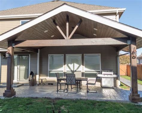 gabled patio cover houzz