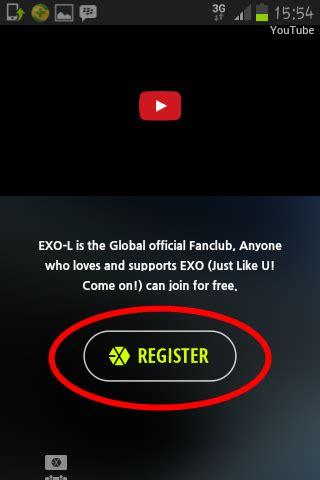 cara membuat id card exo l resmi my expression cara register exo l dan membuat l card
