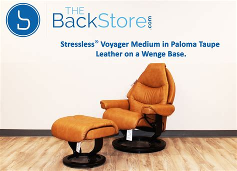 stressless voyager recliner stressless voyager paloma taupe leather by ekornes