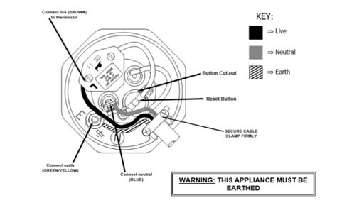 immersion heater thermostat wiring diagram circuit and