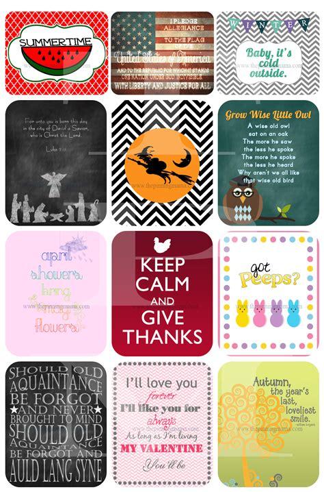 printable images com 2013 seasonal printable collection www thepinningmama com
