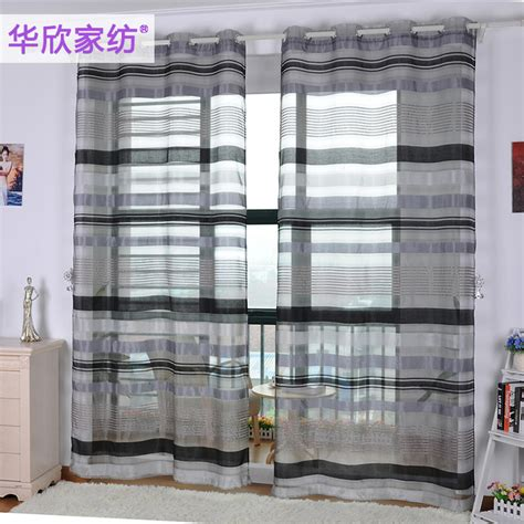 Black And White Stripe Curtains For Living Room Brief Black And White Curtains For Living Room