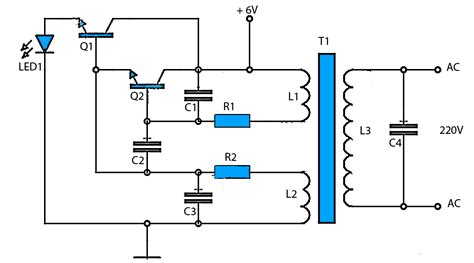 dc to ac power supply schematic get free image about