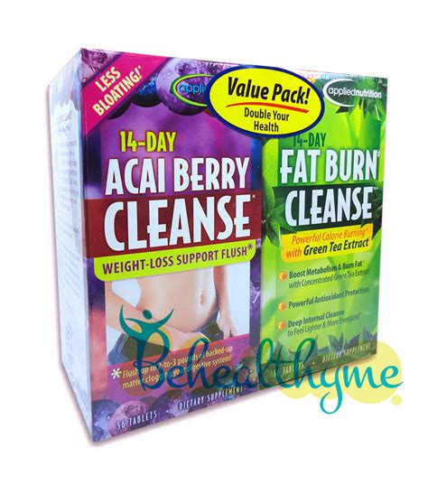 Inspired Nutrition Detox by 14 Day Acai Berry Cleanse By Applied Nutrition