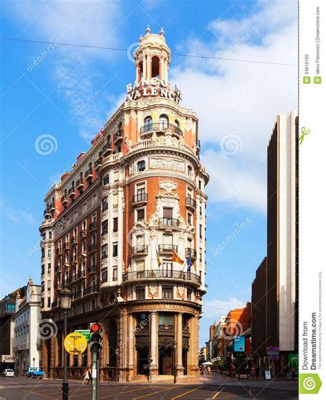 Mediterranean House Plans At valencia bank building valencia spain editorial image