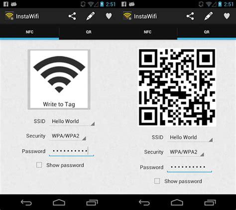 aplikasi untuk membuat qr barcode instawifi cara baru berbagi jaringan wifi dengan qr code