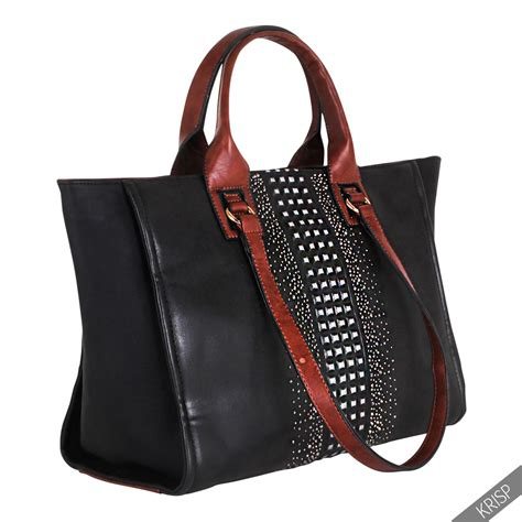 Gallery Reserve Your 2007 Designer Handbags by Womens Gem Stud Large Grab Satchel Weekend Bag