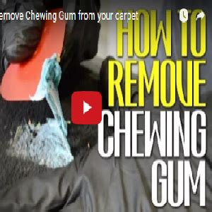 how to remove gum from rug how to remove chewing gum from your carpet detail king detail king