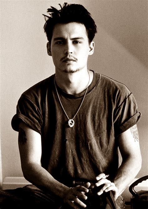 young johnny depp people pinterest