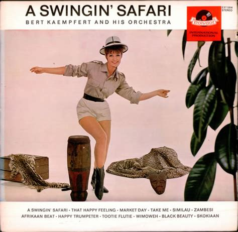 swinging safari bert kaempfert a swingin safari 1st uk vinyl lp record