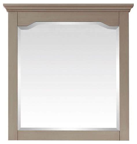pegasus bathroom mirrors pegasus cannes 32 in x 30 in mirror in distressed grey