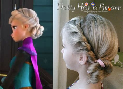 Elsa Hairstyles by S Hairstyles Elsa S Coronation Hairstyle From Disney