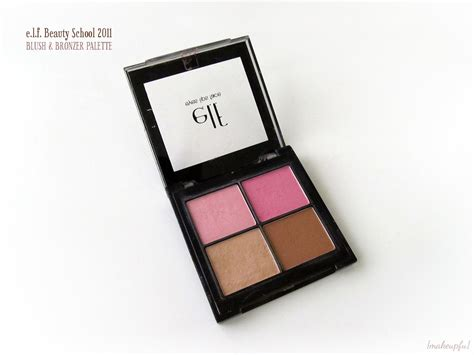 E L F Bronzer Palette throwback thursday e l f school 2011 blush