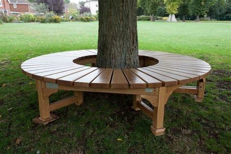 diy tree bench how to build a bench around a tree diy projects for
