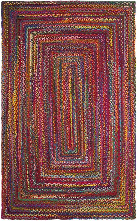 Safavieh Braided Rugs Rug Brd210a Braided Area Rugs By Safavieh