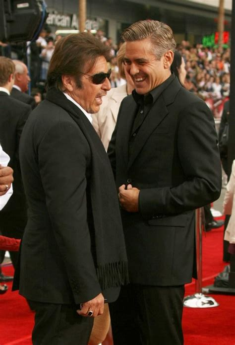 George Clooney Says Oceans Thirteen Will Be The Last by Al Pacino Pictures And Photos Fandango