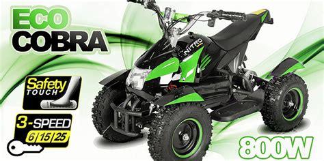Cobra Auto Kaufen österreich by Cobra Ii 800w 36v Electric Quad 3 Level Speed Control