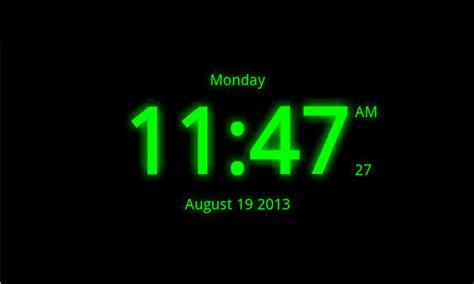 digital clock  wallpaper  android market