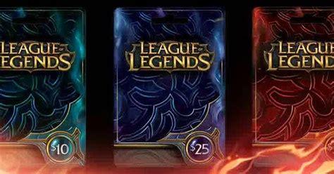 League Of Legends Rp Gift Card - cara gratis mendapat gift card league of legends free lol rp android 2017